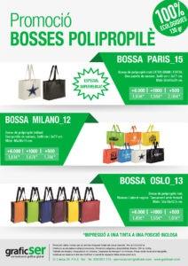 Promoció bosses polipropilè