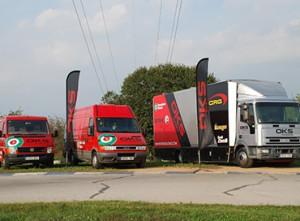 03D retolació vehicles furgonetes camió vinil flota
