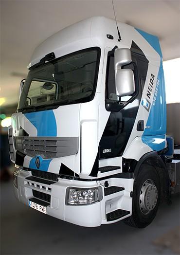03A0RVCT Retolació vehicles cabina camió neteja