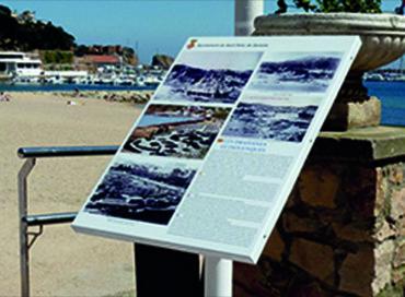 07H Senyalització turistica alumini
