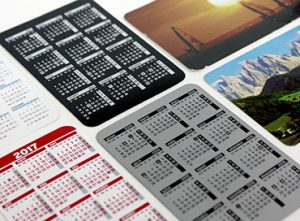 09C Calendari butxaca cartró pvc paisatges