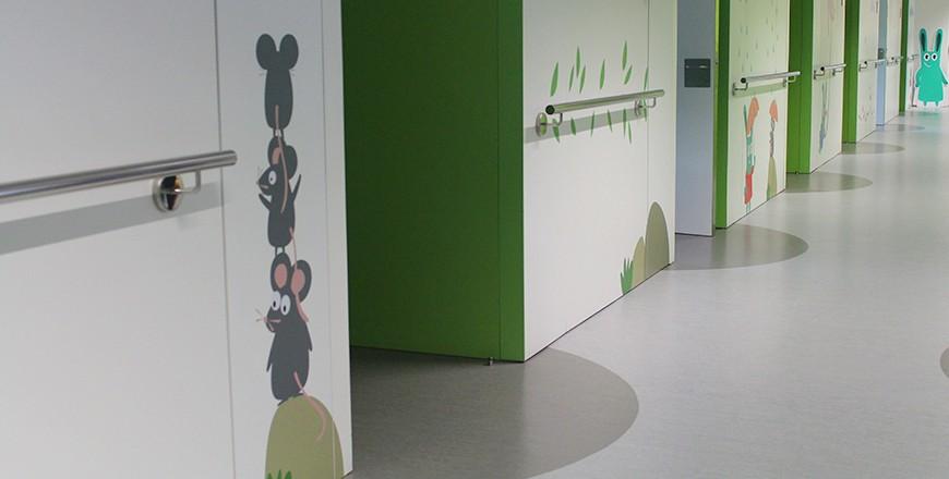 grafica planta pediatria hospital vic 7