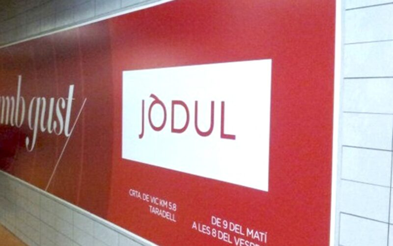 04LPB Lona PVC anunci pàrquing