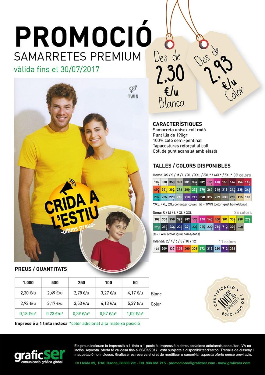 17 07 30 PROMOS SAMARRETES PREMIUM X WEB