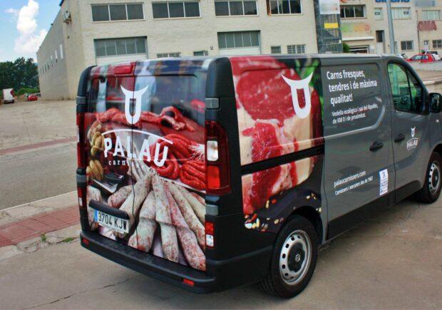 Retolació de vehicles i furgonetes