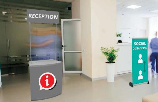Separadors per a recepció