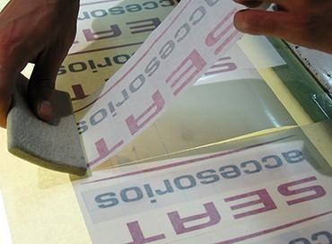 Adhesivos de vinilo de corte