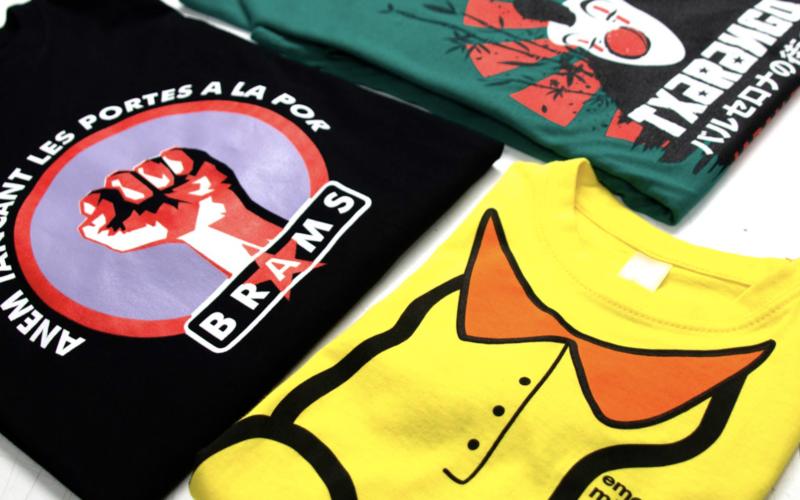 camisetas estampadas personalizadas con transpirabilidad