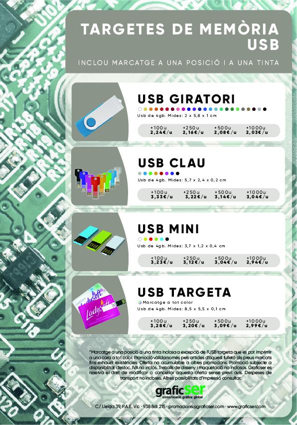 PROMOCIO MEMORIA USB