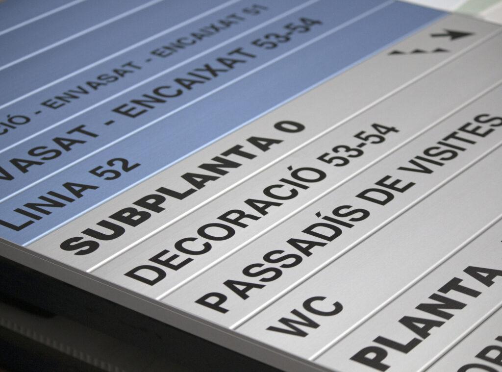 directorios pared